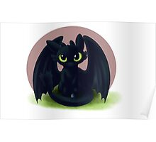 Baby Toothless Poster