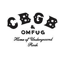 CBGB Photographic Print