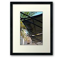 Solar canopy detail. Framed Print