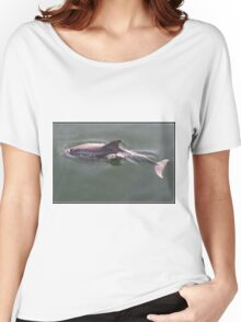 Port River dolphin Women's Relaxed Fit T-Shirt