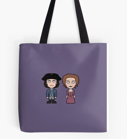 Ross and Demelza Tote Bag