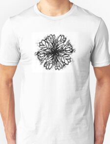 Crocus Flowers Painting 5 T-Shirt