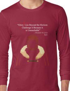 Glory Lies Beyond the Horizon Long Sleeve T-Shirt