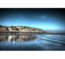 Folkestone Beach (2) Photographic Print