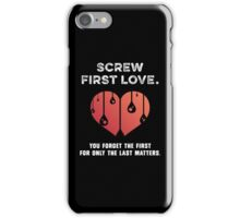 First Love [WHITE] iPhone Case/Skin