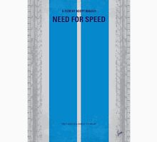 No407 My NEED FOR SPEED minimal movie poster Unisex T-Shirt
