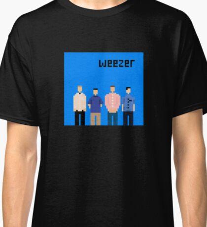 Weezer Blue 8 Bit Classic T-Shirt