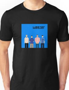 Weezer Blue 8 Bit Unisex T-Shirt