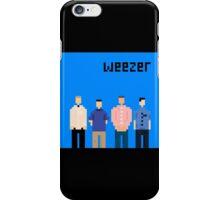 Weezer Blue 8 Bit iPhone Case/Skin