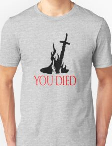You Died, Dark Souls Edition T-Shirt