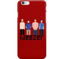 Weezer 8 Bit iPhone Case/Skin