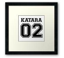 Avatar: Katara Varsity Framed Print