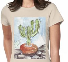 Euphorbia cooperi Womens Fitted T-Shirt
