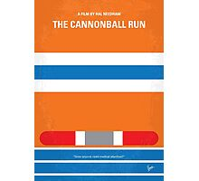 No411 My The Cannonball Run minimal movie poster Photographic Print