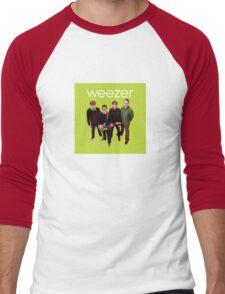 Green Album Men's Baseball ¾ T-Shirt