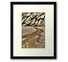 River from Nowhere Framed Print