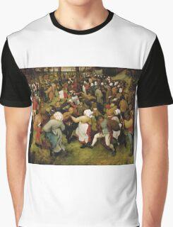 Pieter Bruegel the Elder - The Wedding Dance Graphic T-Shirt
