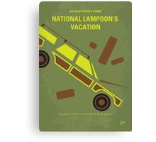 No412 My National Lampoon's Vacation minimal movie poster Canvas Print