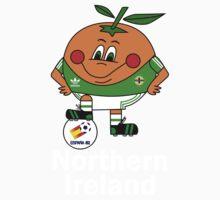 Northern Ireland Football - Espana 82 One Piece - Short Sleeve