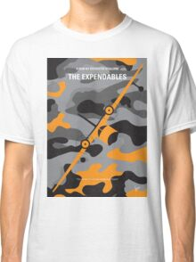 No413 My The expendables minimal movie poster Classic T-Shirt