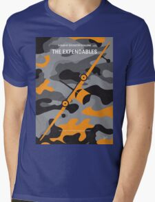 No413 My The expendables minimal movie poster Mens V-Neck T-Shirt