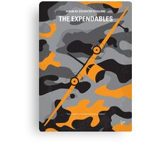 No413 My The expendables minimal movie poster Canvas Print