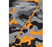 No413 My The expendables minimal movie poster Photographic Print