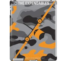 No413 My The expendables minimal movie poster iPad Case/Skin