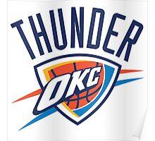 NBA THUNDER OKC Poster