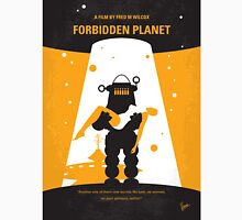 No415 My Forbidden Planet minimal movie poster Unisex T-Shirt