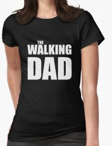 Papa The Walking Dad Womens Fitted T-Shirt