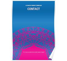 No416 My Contact minimal movie poster Poster