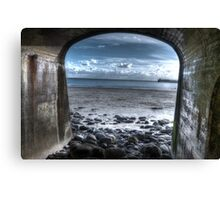 Folkestone Beach (3) Canvas Print