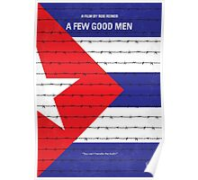 No417 My A Few Good Men minimal movie poster Poster