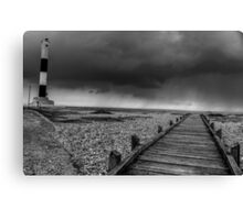 Lighthouse at Dungeness Canvas Print