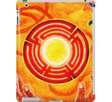 Magic Hands, Spirituality, orange, earth, flower iPad Case/Skin