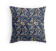 floral and fauna  Throw Pillow