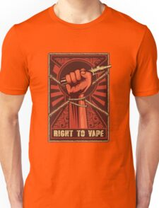 Right to Vape Unisex T-Shirt