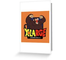 X-Large x Dragon Ball Greeting Card