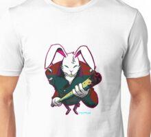 Bunny Bones (white background)  Unisex T-Shirt