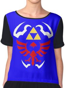 Hylian Shield - Legend of Zelda Chiffon Top