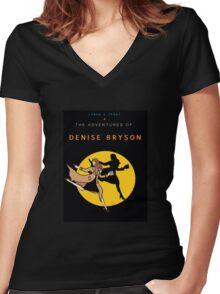 Denise Bryson Women's Fitted V-Neck T-Shirt