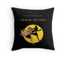 Denise Bryson Throw Pillow