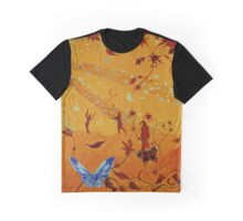 Colorful butterflies, nature, summer, spring, atum, happiness and love Graphic T-Shirt