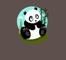 Baby Panda Womens Fitted T-Shirt