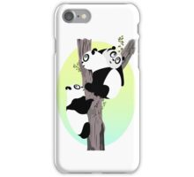 Pandas in a tree iPhone Case/Skin