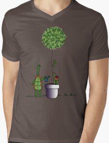 Gardening Turtle 2.0 Mens V-Neck T-Shirt