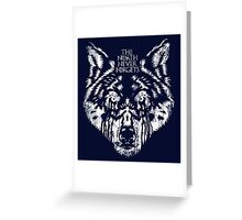 Game of Thrones - The North Never Forgets Greeting Card