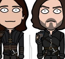 The Musketeers (season 3 uniforms) Sticker