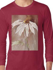 Sepia Daisy Long Sleeve T-Shirt